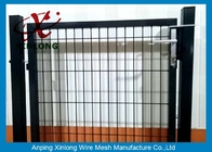 Czarne proszki Sparyed Coating Spawane Wire Fence Gate Z Square Post